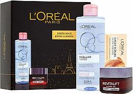 Düfte, Parfümerie und Kosmetik Gesichtspflegeset - L'Oreal Revitalift Laser X3 (Gesichtscreme 50ml + Mizellenwasser 200ml + Gesichtspeeling 4ml)