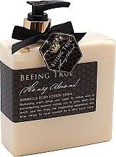 Düfte, Parfümerie und Kosmetik Luxuriöse Körperlotion mit Honig und Mandel - Beeing True Almond Honey Body Lotion