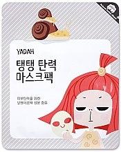 Düfte, Parfümerie und Kosmetik Tuchmaske für das Gesicht mit Schneckenmucin und Kollagen - Yadah Collagen Mask Pack