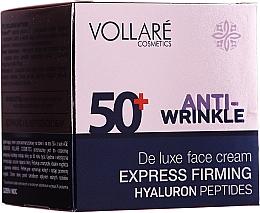 Düfte, Parfümerie und Kosmetik Straffende Anti-Falten Gesichtscreme mit Hyaluronsäure 50+ - Vollare Age Creator Firming Anti-Wrinkle Cream Day/Night 50+