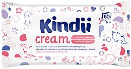 Düfte, Parfümerie und Kosmetik Feuchttücher für Kinder 60 St. - Kindii Cream