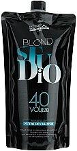 Düfte, Parfümerie und Kosmetik Spezial Entwickler für blondierte Haare 12% - L'Oreal Professionnel Blond Studio Creamy Nutri-Developer Vol.40