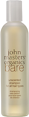 Unparfümiertes Shampoo für alle Haartypen - John Masters Organics Bare Unscented Shampoo — Bild N1