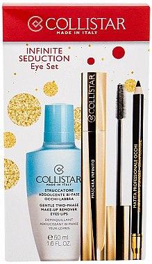 Make-up Set (Make-up Entferner 50ml + Mascara 11ml + Kajalstift 1,2g) - Collistar Infinite Seduction Eye Set — Bild N1