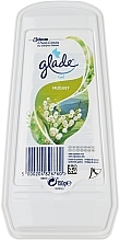 Düfte, Parfümerie und Kosmetik Gel-Lufterfrischer für Räume und Schränke mit Maiglöckchen-Duft - Glade Muguet