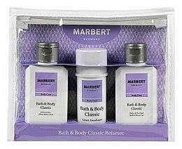 Düfte, Parfümerie und Kosmetik Körperpflegeset - Marbert Bath & Body Classic (Körperlotion + Deocreme + Bade- und Duschgel)
