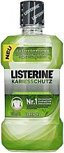 Düfte, Parfümerie und Kosmetik Mundspülung für extra Kariesschutz mit grünem Tee - Listerine Caries Protection Mouthwash