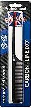 Düfte, Parfümerie und Kosmetik Haarkamm 238 mm - Ronney Professional Carbon Comb Line 077