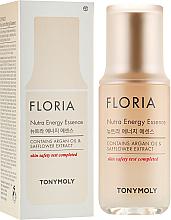 Düfte, Parfümerie und Kosmetik Nährende und energiespendende Gesichtsessenz mit Arganöl und Saflorextrakt - Tony Moly Floria Nutra Energy Essenc