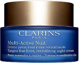Düfte, Parfümerie und Kosmetik Revitalisierende Nachtcreme für normale und Mischhaut 30+ - Clarins Multi Active Revitalizing Night Cream