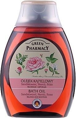 Badeöl mit Sandelholz, Neroli und Rose - Green Pharmacy — Bild N1