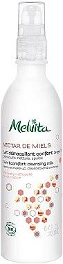 Reinigungsmilch - Melvita Nectar de Miels Lait Demaquillant Confort 3-en-1 — Bild N1