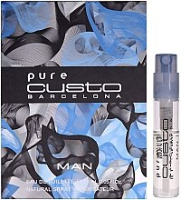 Düfte, Parfümerie und Kosmetik Custo Barcelona Pure Custo Barcelona Man - Eau de Toilette (Probe)