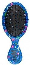 Düfte, Parfümerie und Kosmetik Kompakte Haarbürste hellblau - Wet Brush Squirt Happy Hair