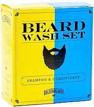 Haarpflegeset - Golden Beards Beard Wash Set (Shampoo 100ml + Conditioner 100ml) — Bild N1