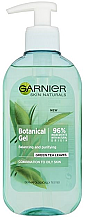 Düfte, Parfümerie und Kosmetik Gesichtsreinigungsgel - Garnier Skin Naturals Botanical Gel Green Tea Leaves