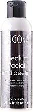 Düfte, Parfümerie und Kosmetik Gesichtspeeling mit Schlamm, Milchsäure und AHA-Säuren - BingoSpa Medium Facial Mud Peeling
