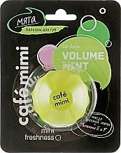 Düfte, Parfümerie und Kosmetik Lippenbalsam mit erfrischendem Minzduft - Cafe Mimi Lip Balm Volume Mint