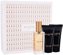 Düfte, Parfümerie und Kosmetik Alaia Paris Eau de Parfum Blanche - Duftset (Eau de Parfum 50ml + Körperlotion 50ml + Duschgel 50ml)