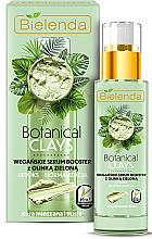 Düfte, Parfümerie und Kosmetik Entgiftender und normalisierender Serum-Booster für das Gesicht mit grünem Ton - Bielenda Botanical Clays Vegan Serum Booster Green Clay