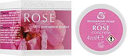 Düfte, Parfümerie und Kosmetik Gesichtscreme mit bulgarischer Rose - Bulgarian Rose Concrete (Mini)