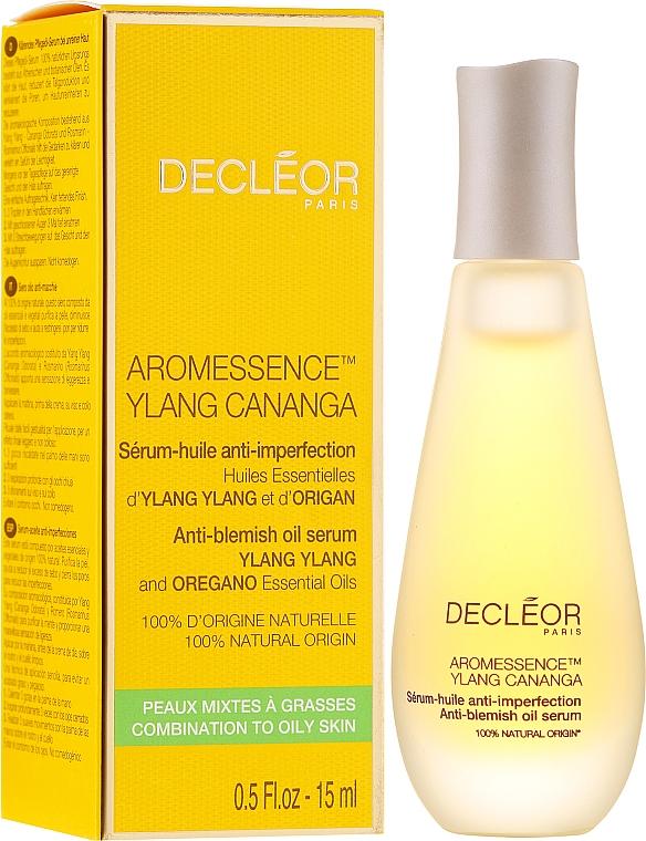 Porenverfeinerndes Gesichtsserum gegen Unvolkommenheiten - Decleor Aromessence Ylang Cananga Oil Serum — Bild N1