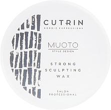 Düfte, Parfümerie und Kosmetik Modellierendes Haarwachs - Cutrin Muoto Strong Sculpting Wax