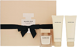 Düfte, Parfümerie und Kosmetik Narciso Rodriguez Narciso Poudree - Duftset (Eau de Parfum 50ml + Körperlotiom 75ml + Duschgel 75ml)