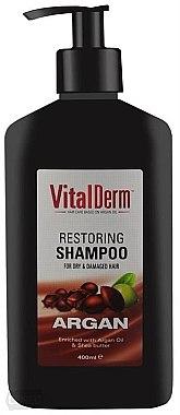 Pflegendes Shampoo für geschädigtes und überbehandeltes Haar - VitalDerm Argana — Bild N1