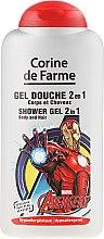 Düfte, Parfümerie und Kosmetik 2in1 Duschgel für Körper und Haare - Corine de Farme