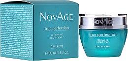 Düfte, Parfümerie und Kosmetik Regenerierende Nachtcreme mit Seidenbaumextrakt und Glykolsäure - Oriflame NovAge True Perfection Night Cream