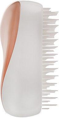 Kompakte Haarbürste rosegold-cremeweiß - Tangle Teezer Compact Styler Rose Gold Cream — Bild N4