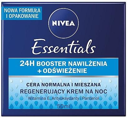 Regenerierende Nachtcreme - Nivea Aqua Effect — Bild N1