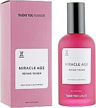 Düfte, Parfümerie und Kosmetik Aufhellendes Gesichtstonikum gegen Falten - Thank You Farmer Miracle Age Tooner