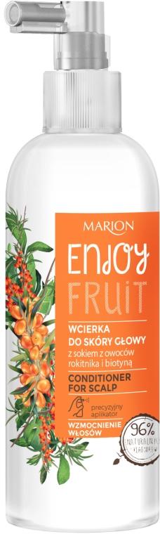 Stärkender Conditioner für die Kopfhaut mit Sanddorn und Biotin - Marion Enjoy Fruit Conditioner For Scalp — Bild N1