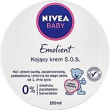 Düfte, Parfümerie und Kosmetik Beruhigende Babycreme - Nivea Baby Pure&Sensitive SOS Creme