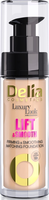 Glättende und straffende Foundation - Delia Cosmetics Luxury Look Lift & Smooth — Bild N1