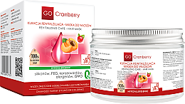 Düfte, Parfümerie und Kosmetik Maske für gefärbtes und strapaziertes Haar mit Moosbeere - GoCranberry Revitalizing Hair Mask