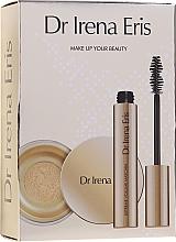 Düfte, Parfümerie und Kosmetik Make-up Set - Dr Irena Eris Make Up Your Beauty (Gesichtspuder 10g + Wimperntusche 9ml)