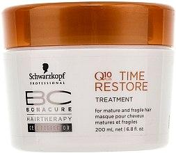 Düfte, Parfümerie und Kosmetik Intensive Q10 Haarkur für reifes Haar - Schwarzkopf Professional BC Bonacure Time Restore Q10 Plus Treatment