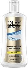 Düfte, Parfümerie und Kosmetik Gesichtsreinigungsmilch zum Abschminken mit Vitaminen E, B3 und Provitamin B5 - Olay Cleanse Dry Skin Cleansing Milk