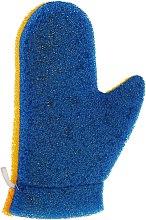 Düfte, Parfümerie und Kosmetik Massagehandschuh Aqua 6021 blau-gelb - Donegal Aqua Massage Glove