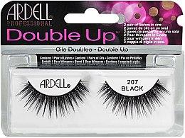 Düfte, Parfümerie und Kosmetik Künstliche Wimpern - Ardell Double Up 207 Black