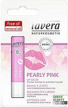 Düfte, Parfümerie und Kosmetik Lippenbalsam mit Bio Mandelöl und Malve - Lavera Pearly Pink Lip Balm