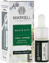 Düfte, Parfümerie und Kosmetik Aqua-Fluid für die Augenkonturen - Markell Cosmetics Skin&City Face Mask
