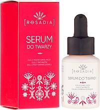 Düfte, Parfümerie und Kosmetik Anti-Falten Gesichtsserum mit Hagebuttenöl - Rosadia