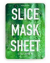 Düfte, Parfümerie und Kosmetik Pflegende Tuchmaske mit Gurkenextrakt - Kocostar Slice Mask Sheet Cucumber