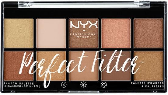 Lidschattenpalette - NYX Professional Makeup Perfect Filter Shadow Palette — Bild N1