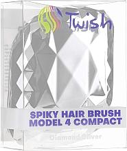 Entwirrbürste silber - Twish Spiky 4 Hair Brush Diamond Silver — Bild N5