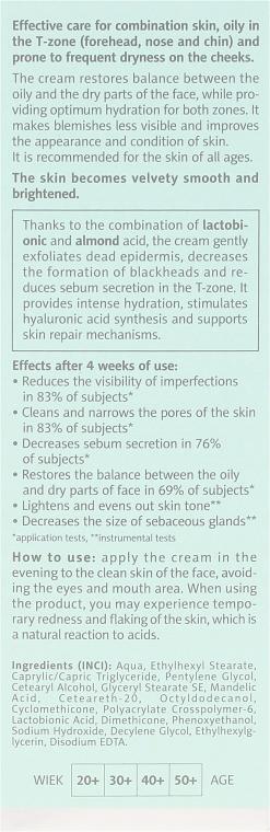 Korrigierende Nachtcreme für die T-Zone mit AHA- und PHA-Säuren - Floslek Balance T-Zone Corrective Cream — Bild N3